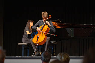 1st Final Concert: Jonas Campos-Siebeck, violoncello with Tomoko Ichinose