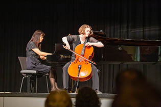 2nd Final Concert: Ann-Claire Dani, violoncello with Tomoko Ichinose, piano