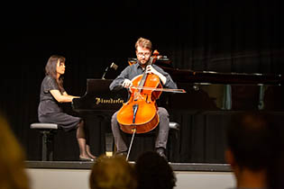 2nd Final Concert: Lukas Frind, violoncello with Tomoko Ichinose, piano