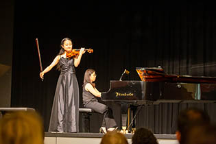 2nd Final Concert: Haruka Ouchi, violin with Eun Jung Son, piano