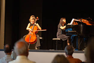 1st Final Concert: Jana Morgenstern with Tomoko Ichinose